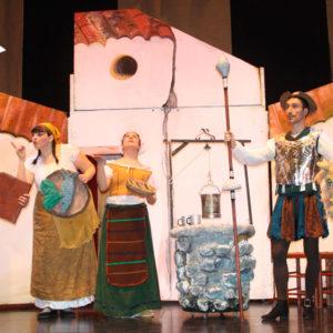 Don Quijote y Sancho Panza… por los campos de la Mancha